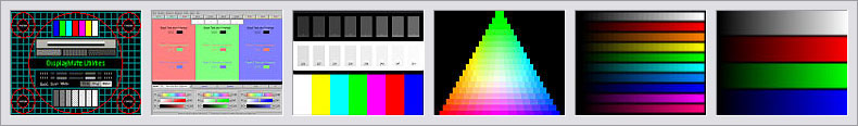 DisplayMate Standard and Video Edition Sample Test Patterns