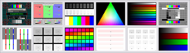DisplayMate Multimedia Edition Sample Test Patterns