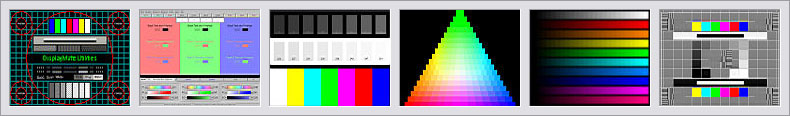 Sample Static Test Patterns